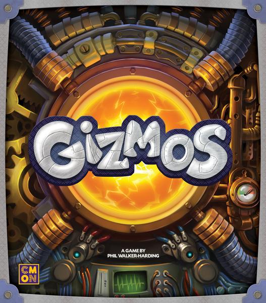 Boxart van Gizmos (Bordspellen), Cool Mini or Not