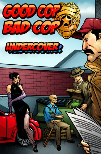 Boxart van Good Cop Bad Cop Uitbreiding: Undercover (Bordspellen), Overworld Games