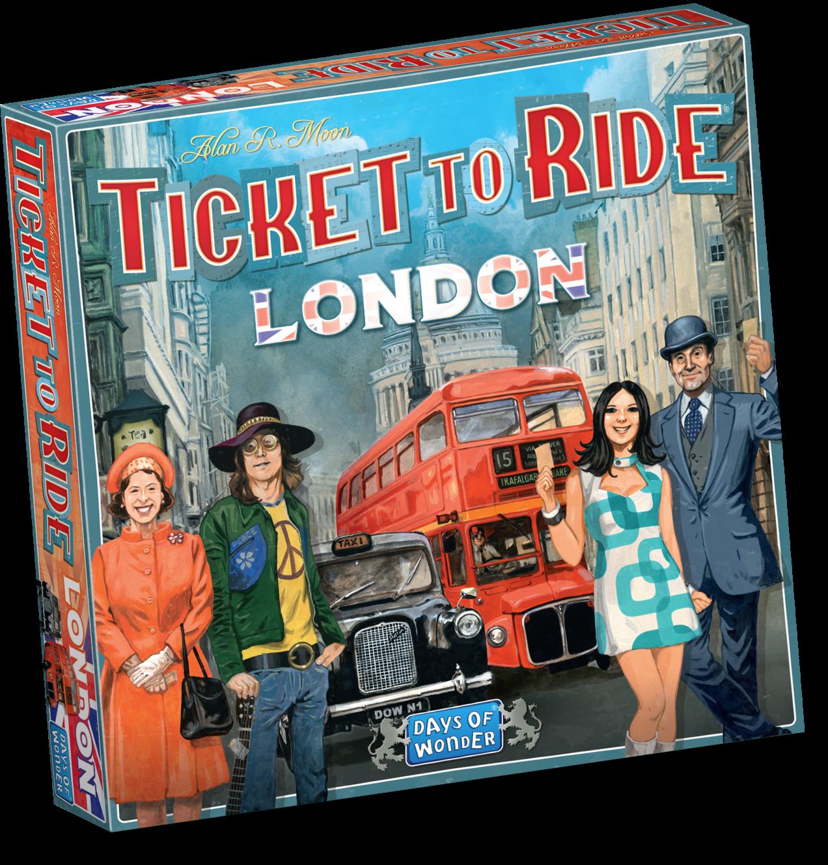 Boxart van Ticket to Ride: London (Bordspellen), Days of Wonder