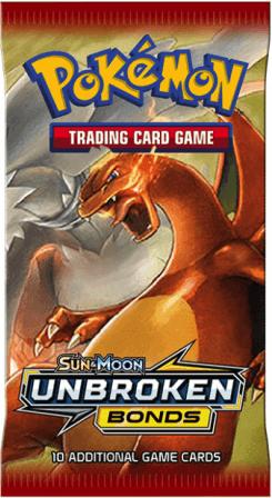 Boxart van Pokemon Sun & Moon Unbroken Bonds Booster Pack (Pokemon), The Pokemon Company
