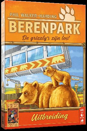 Berenpark Uitbreiding: De Grizzly's zijn los! (Bordspellen), 999 Games