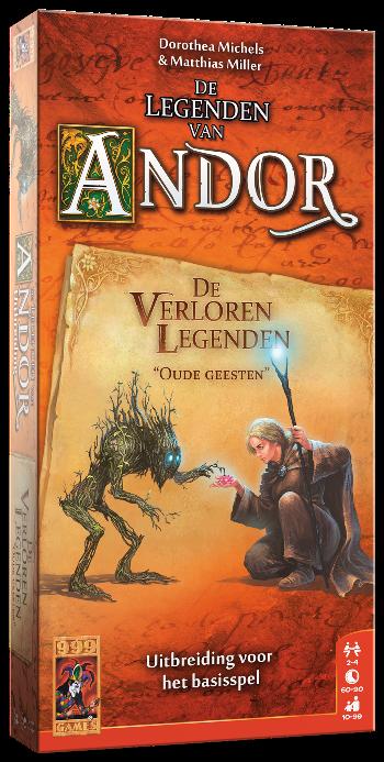 Boxart van De Legenden van Andor Uitbreiding: De Verloren Legenden (Bordspellen), 999 Games