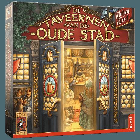 Boxart van De Taveernen van de Oude Stad (Bordspellen), 999 Games