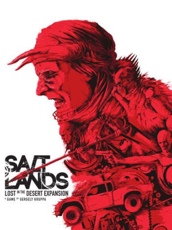 Boxart van Saltlands Uitbreiding: Lost in the Desert (Bordspellen), Antler Games