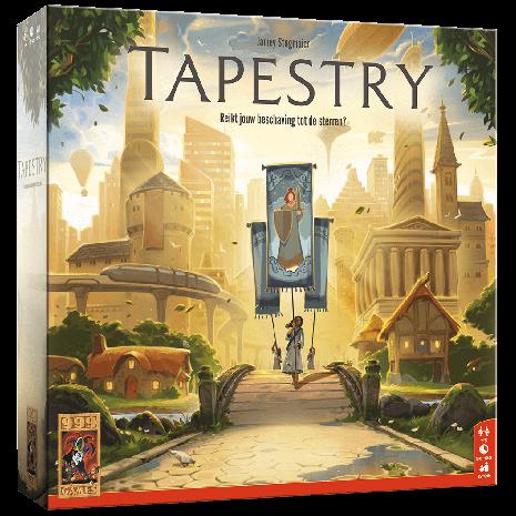 Boxart van Tapestry (NL) (Bordspellen), Stonemaier Games
