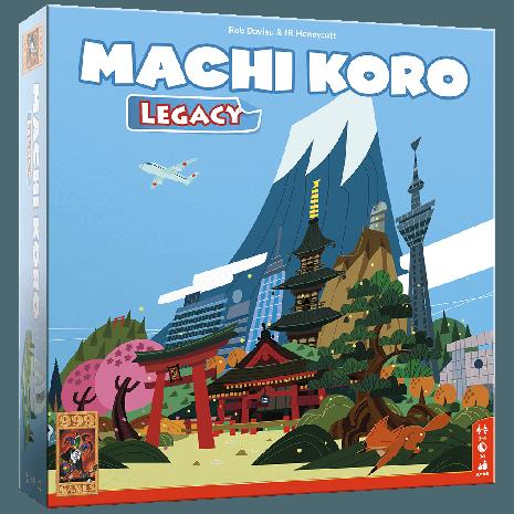 Boxart van Machi Koro Legacy (NL) (Bordspellen), 999 Games