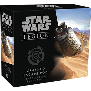 Boxart van Star Wars Legion Battlefield Expansion: Crashed Escape Pod (Bordspellen), Fantasy Flight Games