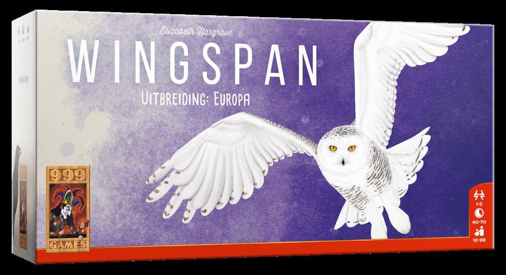 Boxart van Wingspan Uitbreiding: Europa  (Bordspellen), 999 Games