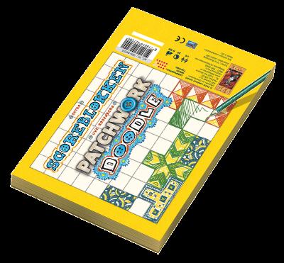 Boxart van Patchwork Doodle Scoreblok (Bordspellen), 999 Games