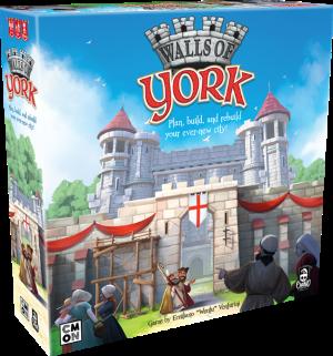 Boxart van Walls of York (Bordspellen), Cool Mini or Not