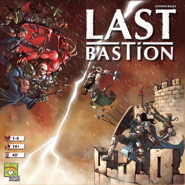 Last Bastion (Bordspellen), Repos Production