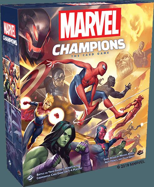 Boxart van Marvel Champions: The Card Game (Bordspellen), Fantasy Flight Games