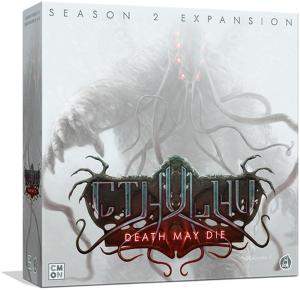 Boxart van Cthulhu Death May Die Uitbreiding: Season 2 (Bordspellen), Cool Mini or Not