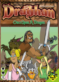 Boxart van World of Draghan: Once Upon a Dragon (Bordspellen), Jumping Turtle Games