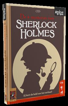 Boxart van Adventure By Book: Sherlock Holmes (Bordspellen), 999 Games
