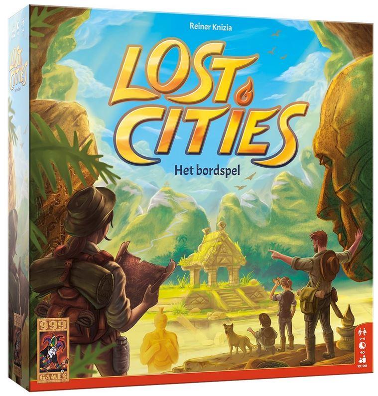 Boxart van Lost Cities: Het Bordspel (Bordspellen), 999 Games