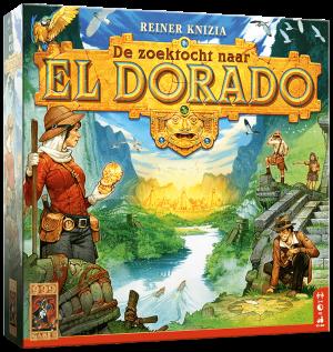 Boxart van De Zoektocht naar El Dorado (Bordspellen), 999 Games