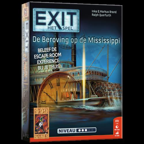 Boxart van Exit: De beroving op de Mississippi (Bordspellen), 999 Games