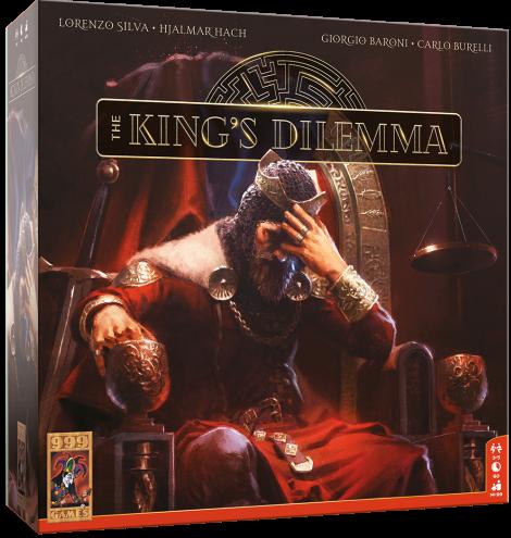 Boxart van The King's Dilemma (NL) (Bordspellen), 999Games