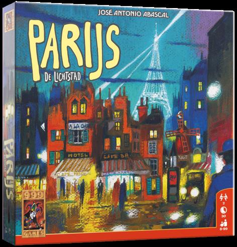Boxart van Parijs - de Lichtstad (Bordspellen), 999 Games