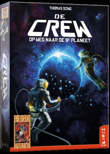 Boxart van De Crew: Op Weg Naar De 9e Planeet (Bordspellen), 999 Games