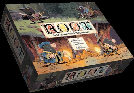 Boxart van Root Uitbreiding: The Underworld (Bordspellen), Leder Games