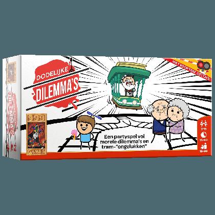 Boxart van Dodelijke Dilemma's (Bordspellen), 999 Games