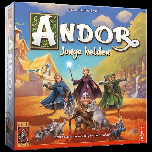 De Legenden van Andor: Jonge Helden (Bordspellen), 999 Games