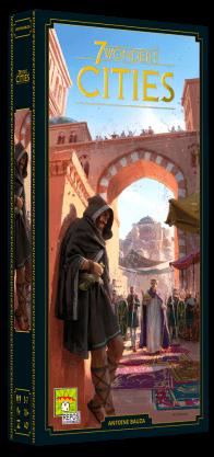 Boxart van 7 Wonders 2nd Edition Uitbreiding: Cities (NL) (Bordspellen), Repos Production