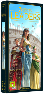 Boxart van 7 Wonders 2nd Edition Uitbreiding: Leaders (NL) (Bordspellen), Repos Production
