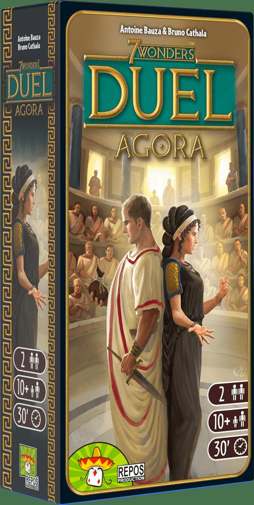 Boxart van 7 Wonders Duel Uitbreiding: Agora (NL) (Bordspellen), Repos Productions