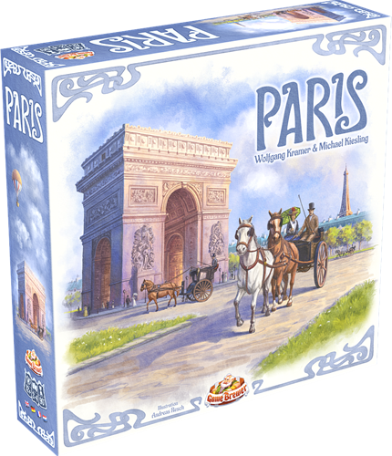 Paris (NL) (Bordspellen), Game Brewer