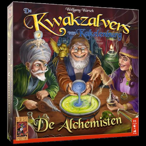 De Kwakzalvers van Kakelenburg Uitbreiding: De Alchemisten (Bordspellen), 999 Games