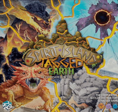 Boxart van Spirit Island Uitbreiding: Jagged Earth (Bordspellen), Greater Than Games