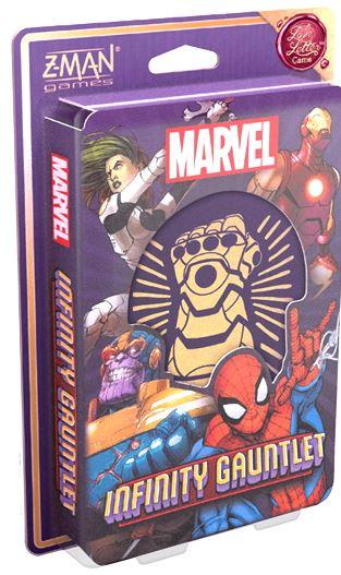 Boxart van Love Letter: Marvel: Infinity Gauntlet (Bordspellen), Z-man Games