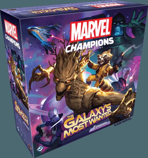 Marvel Champions The Card Game Uitbreiding: The Galaxy's Most Wanted (Bordspellen), Fantasy Flight Games