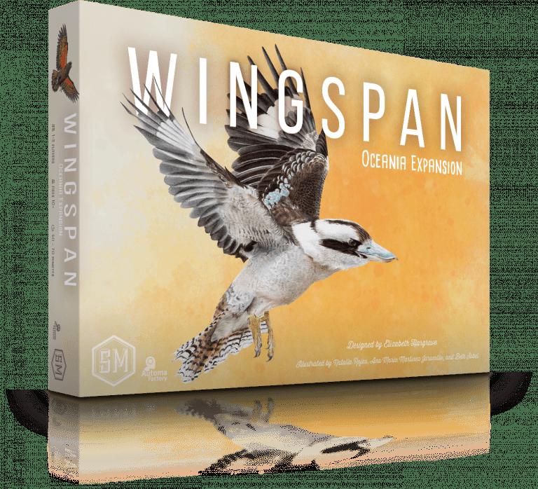 Wingspan Uitbreiding: Oceania (EN), Bordspellen