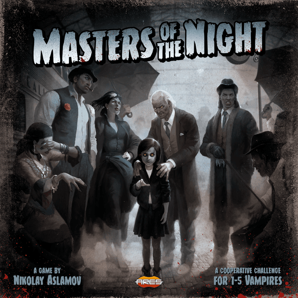 Masters of the Night (Bordspellen), Ares Games