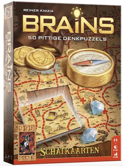 Brains: Schatkaarten (Bordspellen), 999 Games