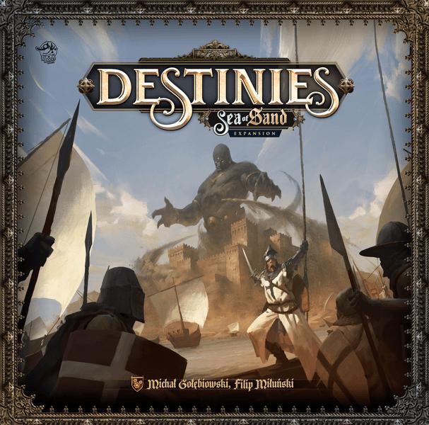 Destinies Uitbreiding: Sea of Sand (Bordspellen), Lucky Duck Games