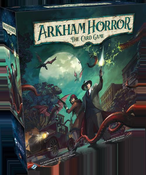 Arkham Horror TCG The Card Game - Revised Core Set (Bordspellen), Fantasy Flight Games
